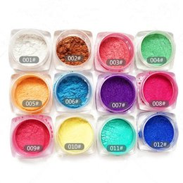$enCountryForm.capitalKeyWord NZ - 12Pcs Set Bling Mirror Powder Dust Glitter Shinning Gorgeous Nail Art Tips Sequins Chrome Pigment Manicure Eyeshadow Stick Free