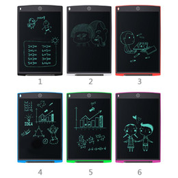 tablet notepad NZ - 12 inch Digital LCD Writing Drawing Tablet Graffiti Board Electronic Handwriting Board Notepad Digital Tablets with Stylus Pen