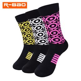 $enCountryForm.capitalKeyWord Canada - R-BAO Wholesale Outdoor Sports Socks Cycling Socks Nylon Breathable Anti Chafe Odor resistant Stockings for Men & Women