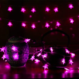 $enCountryForm.capitalKeyWord NZ - YIYANG 10m 100 LEDs LED star string Warm White Star String For Holiday Wedding Party Christmas Tree Decorative String Lights