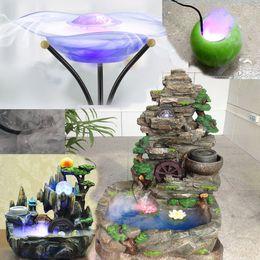 Fog humidiFier online shopping - 12Pcs LED Mist Maker Fogger Atomizer Air Humidifier Water Fountain Pond Fog Machine Aquarium accessories Ornament F902
