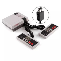 $enCountryForm.capitalKeyWord NZ - Mini AV Cable Output Game Console Video Handheld Games Double Game Controller for NES Games Consoles With English Retail Packing Box