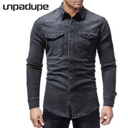 dd70119a2ce Man Cowboy Shirt Canada - Mens Shirts Brand 2018 Men Shirt Cowboy Dress Shirt  Long Sleeve