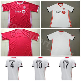 Soccer Football Shorts Man Australia - 2018 2019 MLS FC Toronto Jersey Men Soccer 4 BRADLEY 10 GIOVINCO 17 ALTIDORE 21 OSORIO 5 MORGAN Football Shirt Kit Uniform Personalized