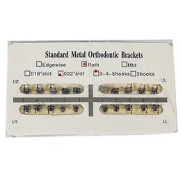 Suporte ortodôntico dental padrão de Roth 022