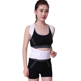 Discount posture support brace women - Shoulder Back Support Therapy Posture Corrector Brace Belt For Men Women Braces Supports Belt Posture Corrector 2018 New