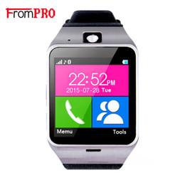 $enCountryForm.capitalKeyWord Australia - wholesale GV18 Bluetooth Smartwatch Aplus Clock Sync Notifier Support Sim Card Smart Watch For Android IOS reloj inteligente c0