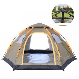 Discount sun camp tents - Wnnideo Instant Family Tent 6 Person Large Automatic Pop Up Waterproof for Outdoor Sun shelter Camping Hiking Travel Bea
