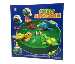 $enCountryForm.capitalKeyWord NZ - Feeding Foggies Crazy Frog To Eat Beans For the Ball with Beads Baby Toys Baby Kids Interaction Educational Toy