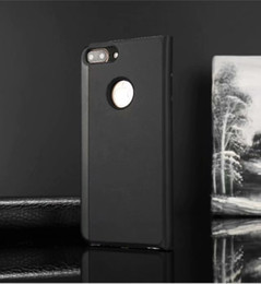 $enCountryForm.capitalKeyWord Canada - 100pcs Luxury Mirror Clear View Case for iPhone 6 6S 7 8 Plus Phone Cover Plating Base Vertical Stand