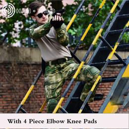 $enCountryForm.capitalKeyWord Australia - Men Multicam Uniform Camouflage Suit Army Long Combat Shirt+ Cargo Pants Paintball Tactical Clothes Set