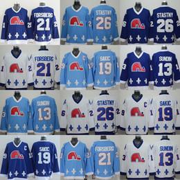 Peter Forsberg Quebec Nordiques Jersey Canada - On Sale Quebec Nordiques  19  Joe Sakic Jersey 6cb54e847