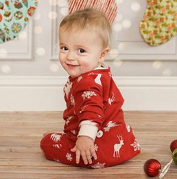 dd1e09bffcc Baby Christmas Rompers Newborn Baby Boys Girl Xmas deer Warm Long Sleeve  red Romper New year Jumpsuit Outfits Clothes 0-12M