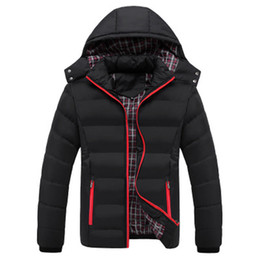 Plus Size Winter Parka Canada - Plus Size XXXXXL Brand Men black Winter Jacket Warm Male Coats Fashion Thick Thermal Men Parkas Casual Parka hombre invierno