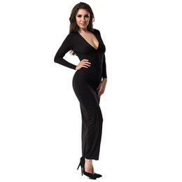 Black Formal Gowns with Sleeves