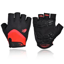 Bicycle Road Cycling Gloves Australia - Cycling Gloves for Men Women GEL Sport Mountain Bike Bicycle Gloves Breathable Off Road Half Finger MTB Gloves Mittens Accessories