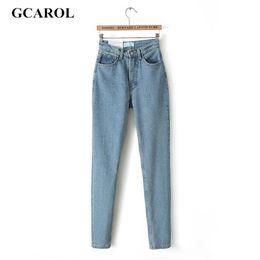 $enCountryForm.capitalKeyWord Canada - Euro Style Classic Women High Waist Denim Jeans Vintage Slim Mom Style Pencil Jeans High Quality Denim Pants For 4 Season
