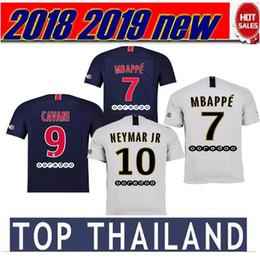 2018 2019 Top Thailand maillots soccer jersey 2019 MBAPPE saint germain NEYMAR  JR cavani jersey 18 19 Survetement football kit shirt aac521de0