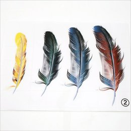 Car Transparent Stickers NZ - New Style 3d Scratches Cover Realistic Feathers Car Stickers Transparent Spray Painted Reflectors Fur Decals