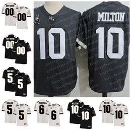 75730d9d0 Custom NCAA UCF Knights 10 McKenzie Milton 5 Blake Bortles 18 Shaquem  Griffin 6 Brandon Marshall College Football Jersey Stitched