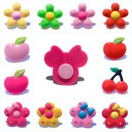 $enCountryForm.capitalKeyWord UK - New Arrival Exquisite Flower Fruits PVC Strong Magnetic Fridge Magnet Lovely Blackboard Refrigerator Sticker Home Kitchen Decor Kid Toy Gift