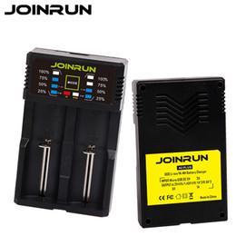 Lifepo4 Li Ion Battery UK - charger for Original Joinrun N2 Plus 18650 Battery Charger For 26650 16340 RCR123 14500 LiFePO4 Ni-MH Ni-Cd Li-Ion Rechareable Battery