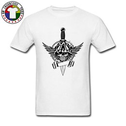 gothic clothing brands UK - Gothic Skull Samurai Swordsman Short Sleeve Tops T Shirt Street Man Tshirt Crazy Clothing Shirt Brand New O-Neck Sweatshirt Tops