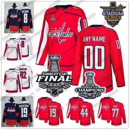 6400ec7c36f 8 Photos China Custom Washington Capitals Hockey 2018 Stanley Cup Final  Champions Jersey Stitched Any Number Name Navy