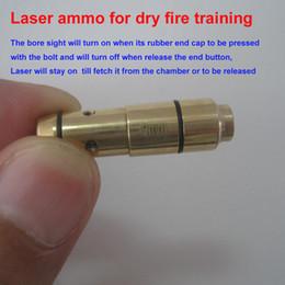 Venta al por mayor de Laser Ammo, Laser Bullet, Trainer Pistol Laser Cartridge para fuego seco, para entrenamiento de tiro