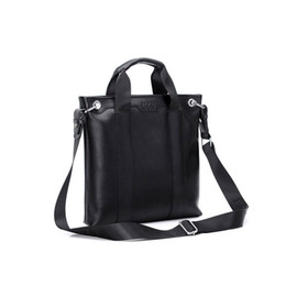 large leather laptop bags 2018 - large briefcase - unisex office work bag laptop stable character | portable computer briefcase cheap large leather lapto