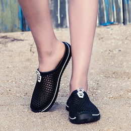 Mint Green Flat Shoes Canada - Summer Women's Shoes Unisex Beach Slippers Female Flat Slipper Couple Beach Shoes Male Women's Slippers chaussures femme