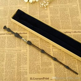 Wholesale Metal Core Albus Dumbledore Magic Wand Harri Potter Magical Wand Harry Potter Stick High Quality Gift Box Packing