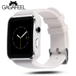 $enCountryForm.capitalKeyWord Canada - GAGAFEEL X6 Bluetooth Smart Watch Sport Passometer Smartwatch with Camera Support SIM Card Whatsapp Facebook for Android Phone
