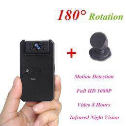 MD90 Mini DV Camara 1080 P visión nocturna por infrarrojos niñera Micro Kamera Detección de movimiento Cámara secreta videocámara pk SQ8 SQ11 en venta