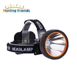 12pcs lot Hunting friends Separation Style LED Headlamp Rechargeable Head Lamp Waterproof Headlight Hunting Lights for Outdoor on Sale