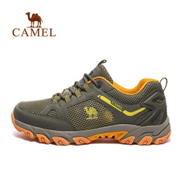 $enCountryForm.capitalKeyWord NZ - CAMEL Outdoor Sports Hiking Shoes For Men Mesh Mountaineering Hunting Trekking Camping Shoes Summer Breathable Upstream