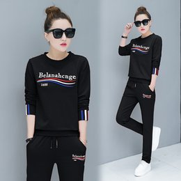 $enCountryForm.capitalKeyWord Canada - woman Embroidery Circular collar Leisure time Sweater Suit cotton Loose coat fashion motion Pullover Suit Youth Student Jacket New style