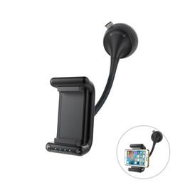 Multifunktionale Bluetooth-Handy-Halter Halterung Stand-Hand-Anruf mit starken Saugnapf Auto