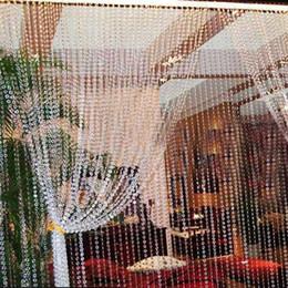 $enCountryForm.capitalKeyWord UK - Birthday Party 30m Chandelier Crystals Lamp Prisms Acrylic Octagonal Beads Garland Chandelier Party Hanging Curtain Interior Decor