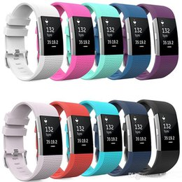 Watch spring bracelets online shopping - 21 Styles Silicone Smart Strap For Fitbit Charge Fitness Replacement Watch Band Loop Buckle Bracelets Straps for Fitbit Charge