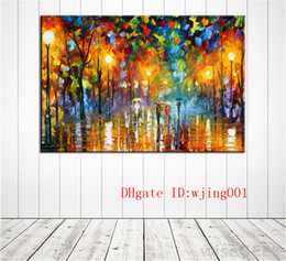 $enCountryForm.capitalKeyWord Australia - Rain lovers tree lights landscape , Canvas Pieces Home Decor HD Printed Modern Art Painting on Canvas (Unframed Framed)