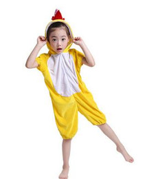 China 2018 New style children Cosplay Chicken and fox speckled dog Animal perform clothing Boys and girls Dance Conjoined clothes suppliers