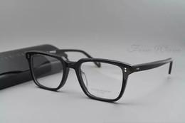 c145d309fa New Oliver Peoples NDG-1-P Spectacle Frame eyeglasses frames for Men Women  Myopia Brand Designer Vintage Glasses frame With Original Case