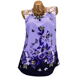 Discount flower lace tee - Fashion Butterfly Flower Lace Women Sleeveless Summer T-Shirt Vest casual lady short sleeve top tee