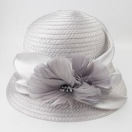 $enCountryForm.capitalKeyWord NZ - Kentucky Derby Dress Formal Ladies Hats Womans Party Elegant Hat Feather and Flower Decoration Fancy Female Bucket ChurchHat EPU-MH1893