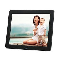 Vente en gros Super Slim 10,1 10 pouces cadre photo numérique LCD TFT film Album MP4 réveil 16: 9 1024 * 600 JPEG / JPG / BMP MMC / MS / SD MPEG AVI Xvid