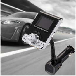Flash Drive Charger Australia - USB Car Charger FM Transmitter Car MP3 Players Wireless Bluetooth FM Modulator Support Flash Drive