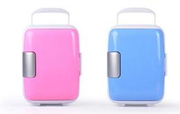Автомобильный Мини-Холодильник 4L 10L Холодильник 12 В 220 В Бытовой И Автомобильной Использовать Холодильный Инкубатор Автомобильный Портативный ColdWarm Box