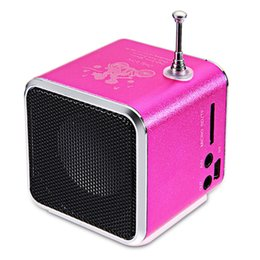 $enCountryForm.capitalKeyWord UK - mini Digital portable radio FM speaker internet FM radio USB SD TF card player for mobile phone PC music player V26R DH