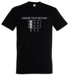 Fun plug online shopping - Choose Your Destiny T Shirt Plug Nerd Geek Fun Msc SLS Funny Unisex Casual tee gift